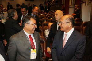 Raimundo Colombo e Geraldo Alckmin